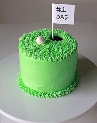 Perfect Putt Golf Cake