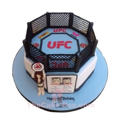 UFC Fight Cage Cake
