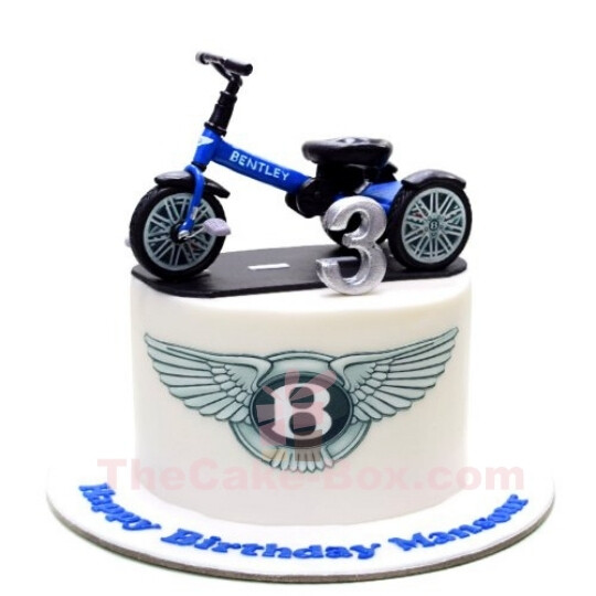 Bentley Balance Cycle 3D Cake