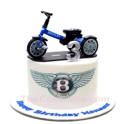 Bentley Balance Cycle 3D Cake