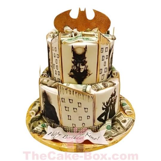 Batman The Dark Knight Cake