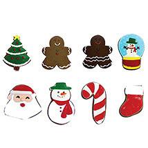 8 Christmas Cookies