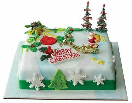 Christmas Delight Plum Cake