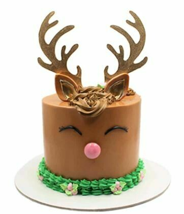 REINDEER CAKE Brown