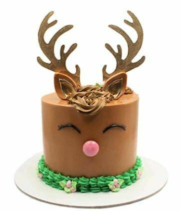 REINDEER CAKE Brown