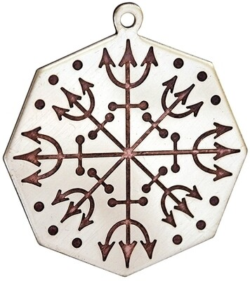 Key of Solomon Charms Protection Charm (Voodoo)
