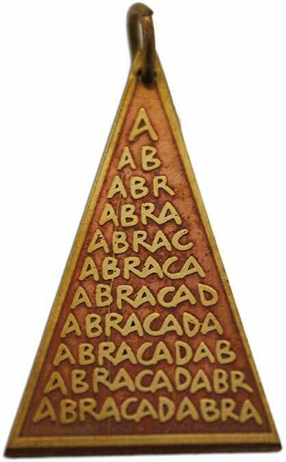 Key of Solomon Charms Abraca Triangle