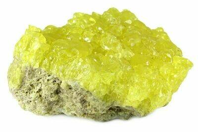 Sulfur From Bolivia Grade A W: 4 Lbs 3oz