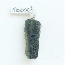 Moldavite Rough Pendant