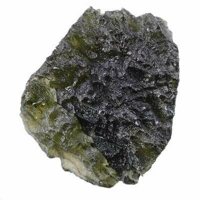 Moldavite Rough Specimen 21 GRAMS