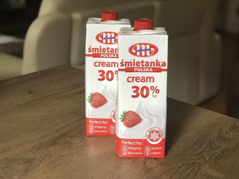 Вершки Smietanka 30% (Польща), 1 л.