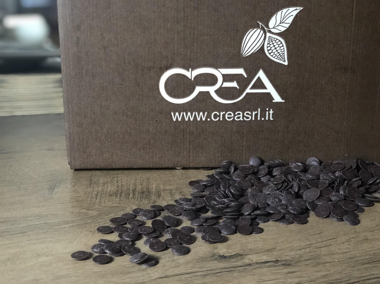 Екстра-чорний  шоколад 73% Crea, 1 кг.
