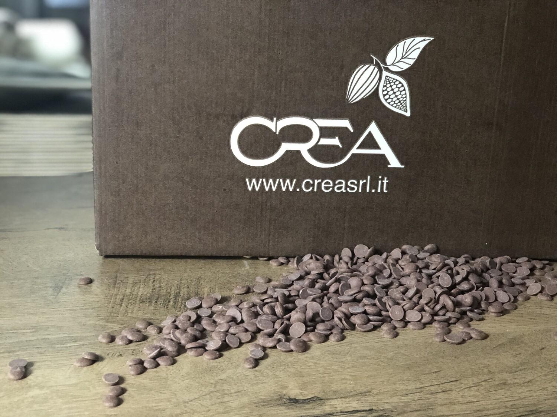Молочний шоколад Crea 32 %, 1 кг.