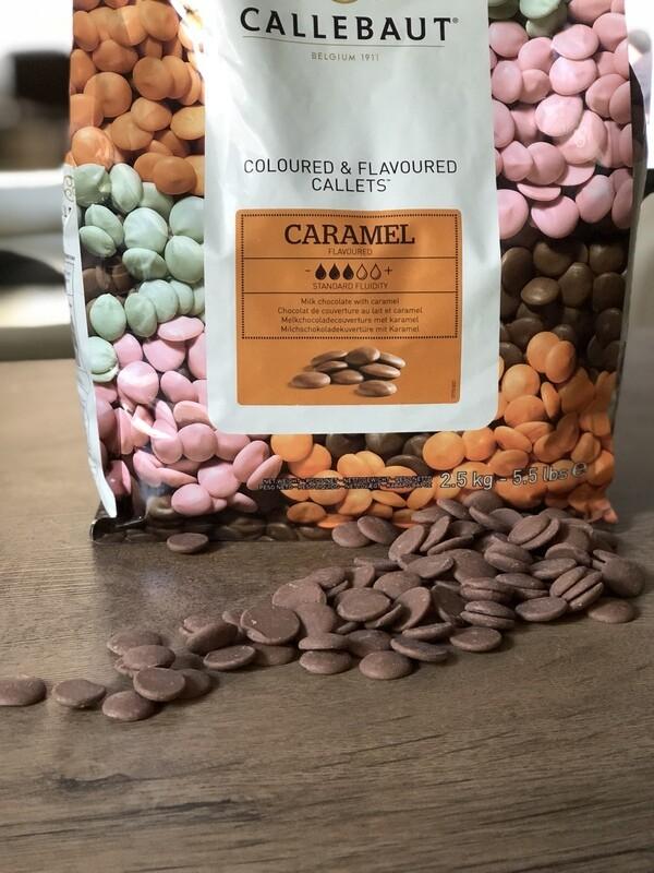 Шоколад зі смаком карамелі Callebaut, 1 кг.