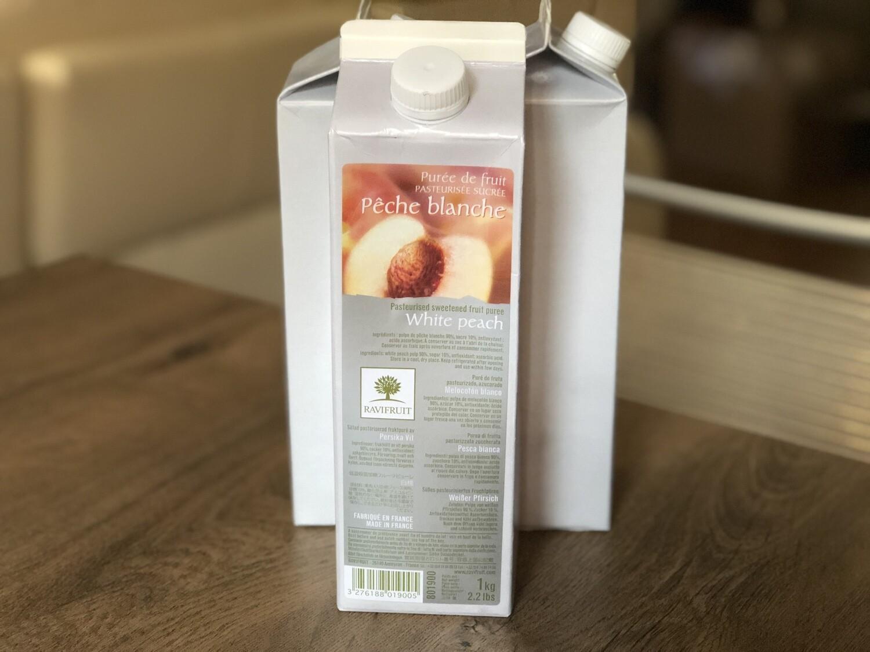 Пюре Ravifruit білий персик, 1 кг.