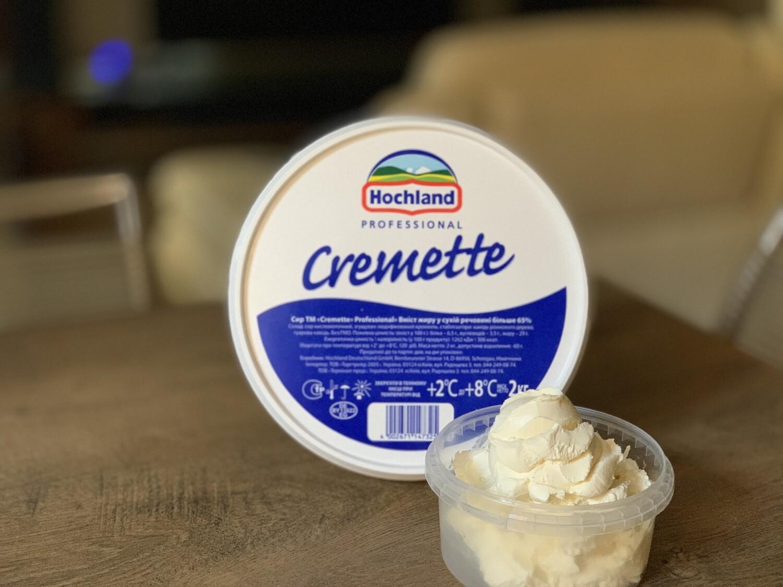 Сир Cremette (Німеччина) на вагу, 1 кг.