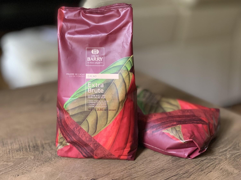 Какао-порошок алкалізований 22-24% Extra Brute (Бельгія), 1 кг.