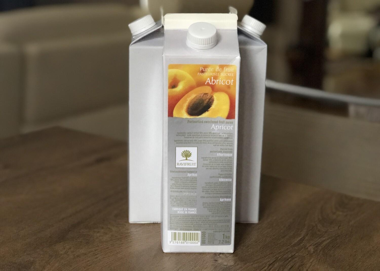 Пюре Ravifruit  абрикос, 1 кг.