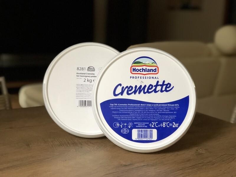 Сир Cremette (Німеччина), 2 кг.