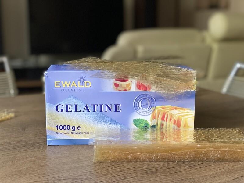 Желатин листовий Ewald-Gelatine TITAN, 25 г.