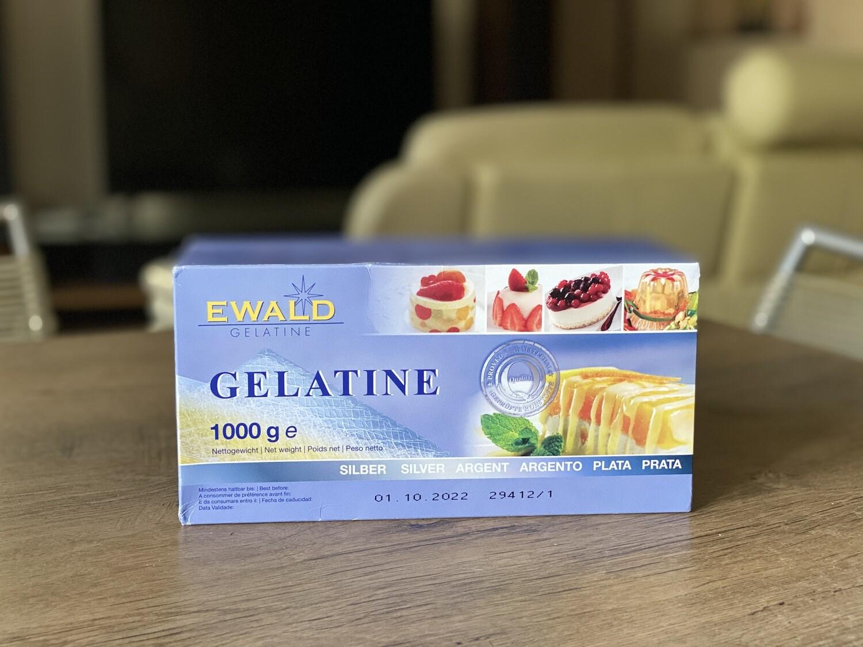 Желатин листовий Ewald-Gelatine TITAN, 1 кг.