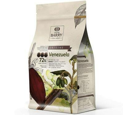 Екстра Чорний Шоколад VENEZUELA 72%, 1 кг.