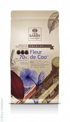 Екстра Чорний Шоколад FLEUR DE CAO 70%, 5 кг.