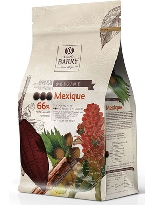 Чорний Шоколад  MEXIQUE 66%, 1 кг.