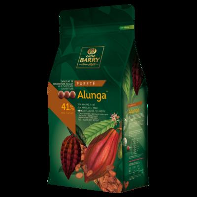 Молочний Шоколад   ALUNGA™ 41%, 1 кг.