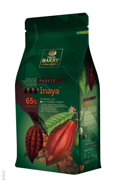 Чорний Шоколад  INAYA™ 65%, 1 кг.
