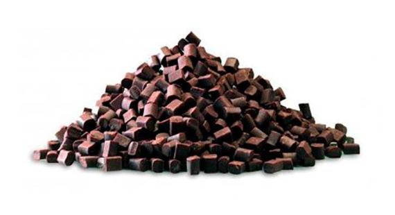 Шматочки чорного шоколаду Chunks, 10 кг.