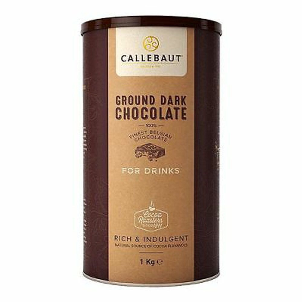 Чорний шоколад для напоїв, 1 кг.