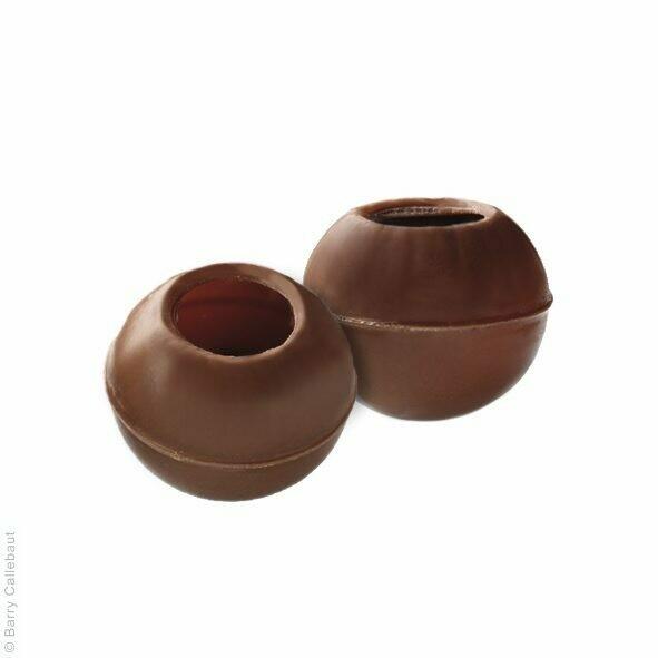 Трюфель корпус з молочного шоколаду, 126 шт.
