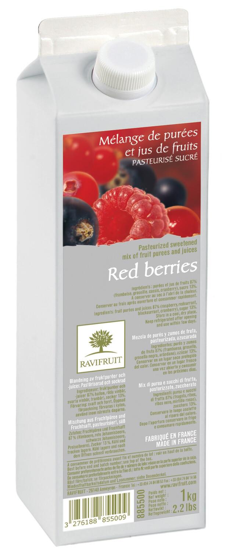 Пюре червоні ягодиRAVIFRUIT