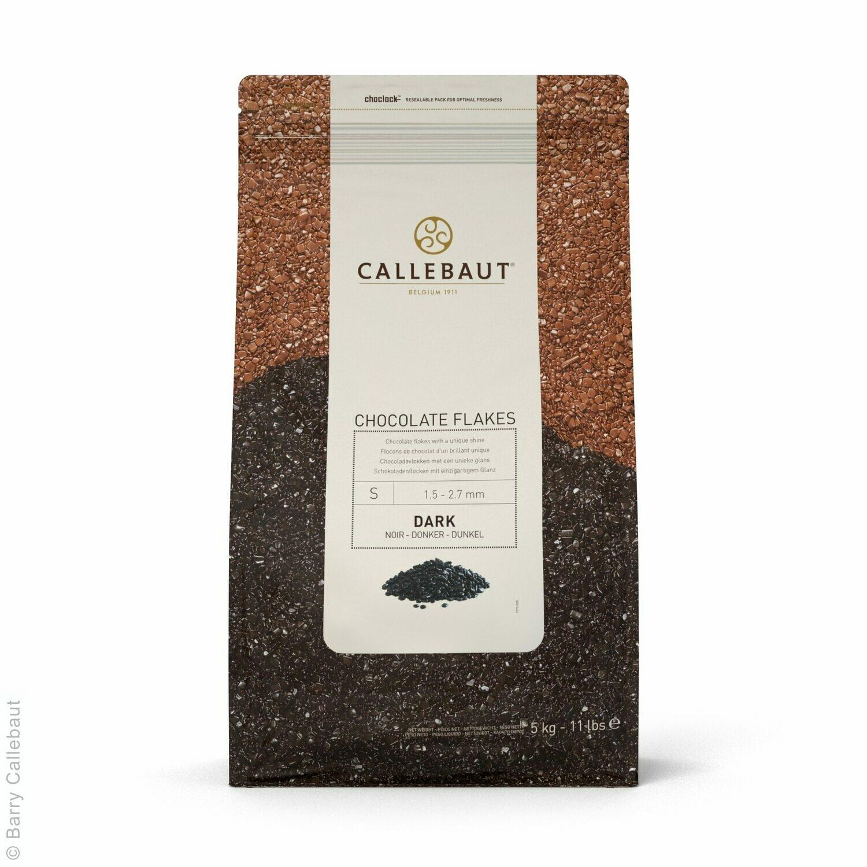 Декор із чорного шоколаду Flakes, 1 кг.