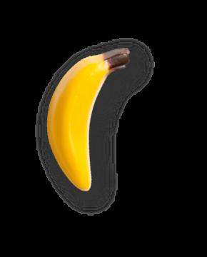 Декор банан шоколад Mona Lisa 80*4, 210 г.