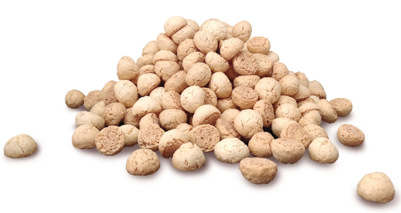 Печиво амаретті краплі 10-13мм, 0,35 кг.