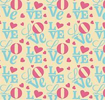 """""""Love"""" трансфер, 5 шт."""