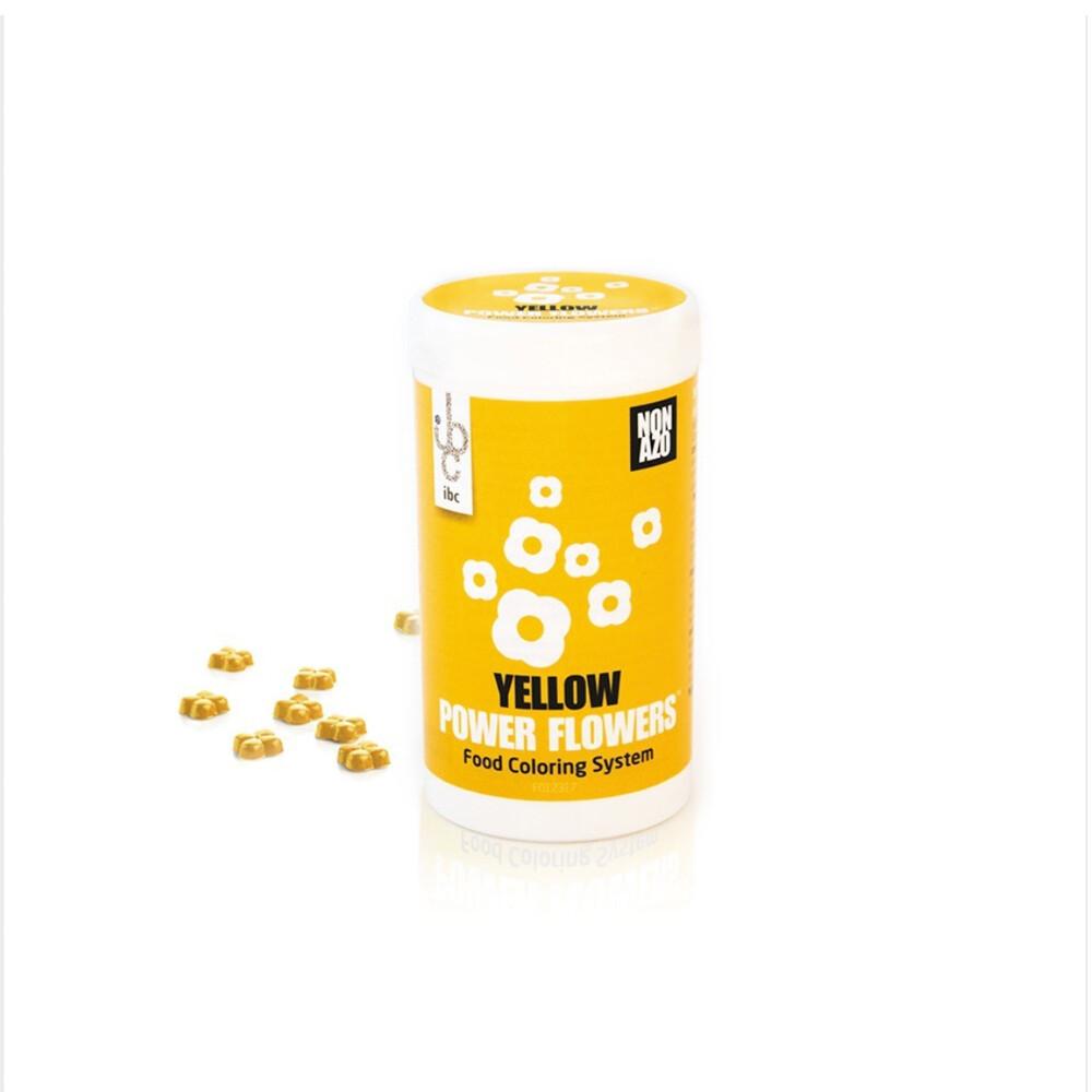 Барвник жовтий  50 г/ Power Flower NON AZO Yellow 50г