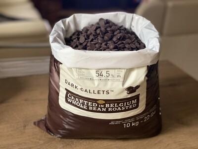 Чорний шоколад № 811 Callebaut, 1 кг.