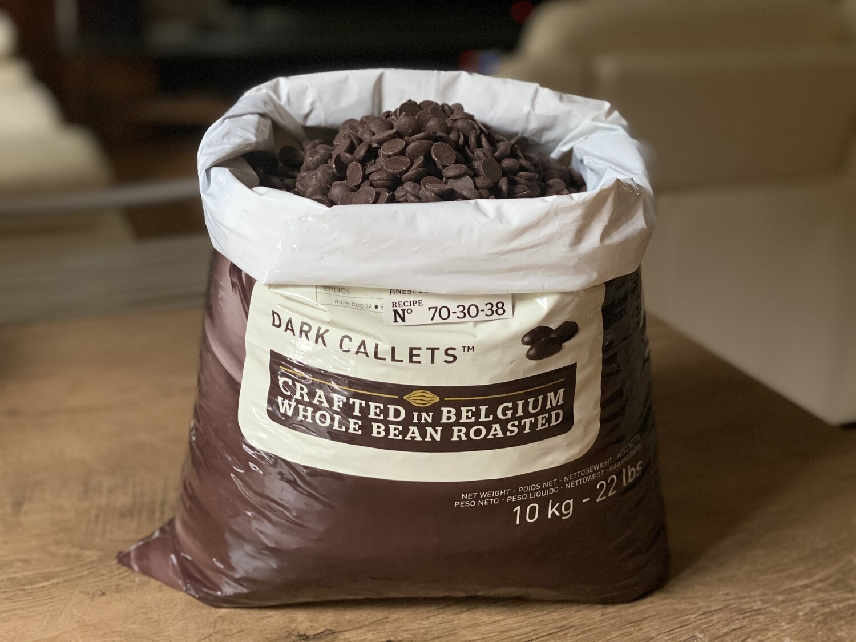 Екстра-чорний шоколад  70,5% Callebaut, 1 кг.