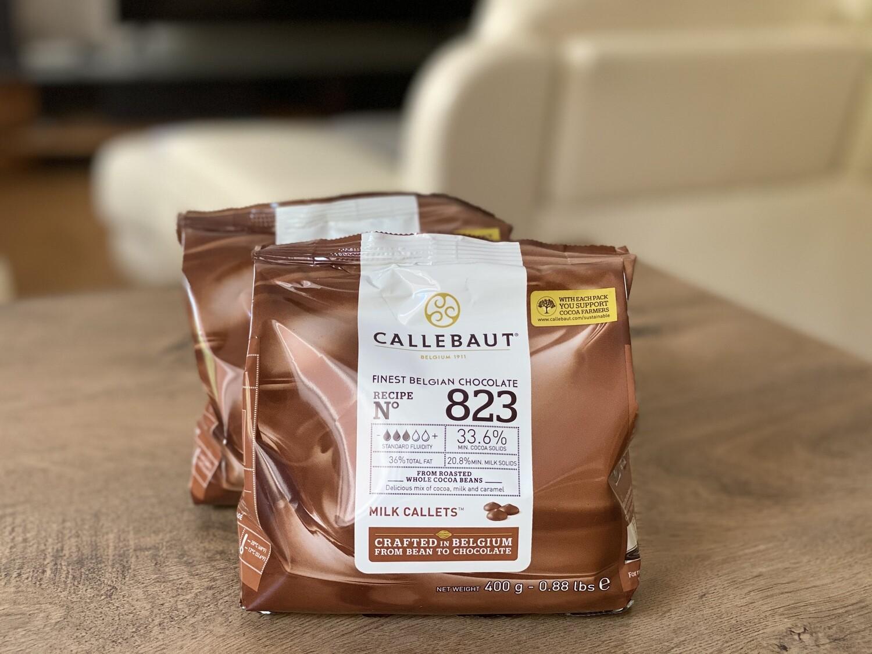 Молочний Шоколад  № 823 Callebaut, 400 г.