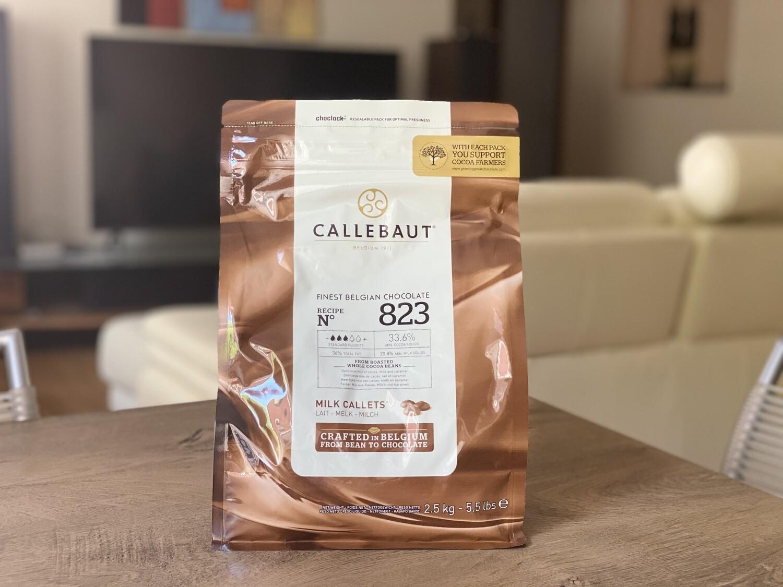 Молочний Шоколад  № 823, 2,5 кг.