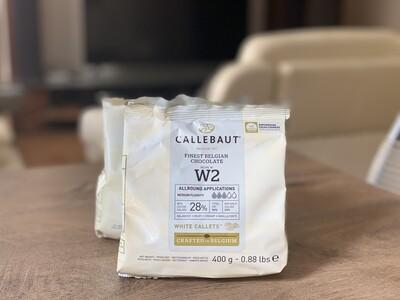 Білий шоколад  N° W2 Callebaut, 400 г.