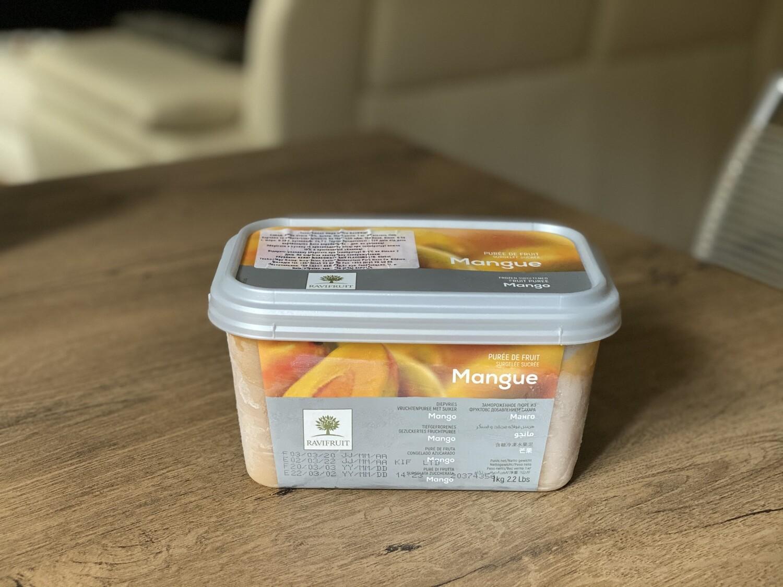 Заморожене пюре Ravifruit манго, 1 кг.
