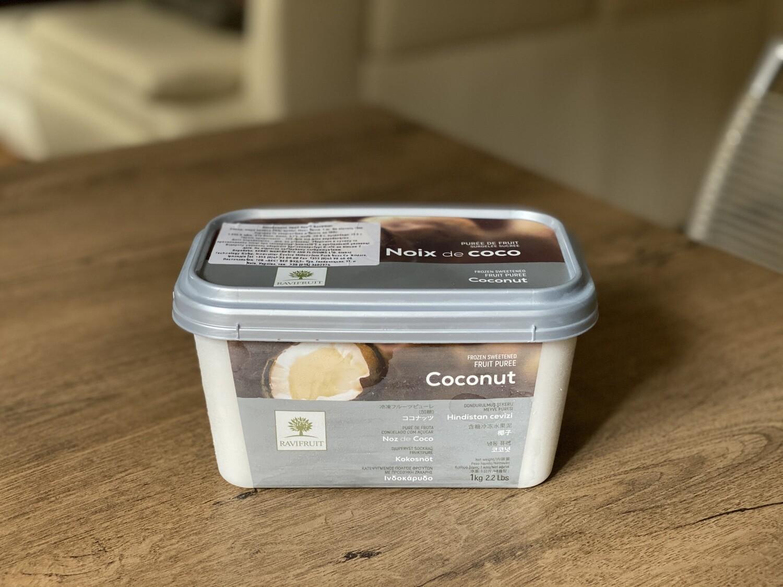Заморожене пюре Ravifruit кокос, 1 кг.