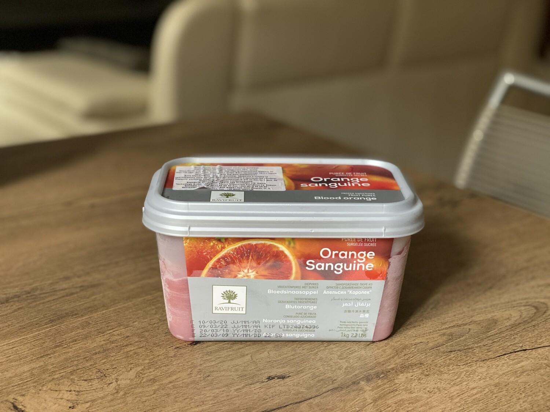 Заморожене пюре Ravifruit червоний апельсин, 1 кг.
