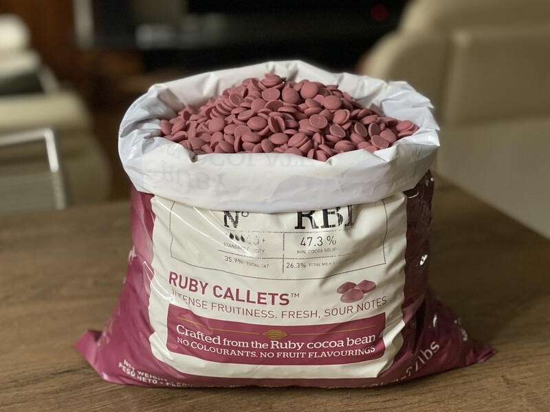 Кольоровий Шоколад Ruby - RB1, 100 г.