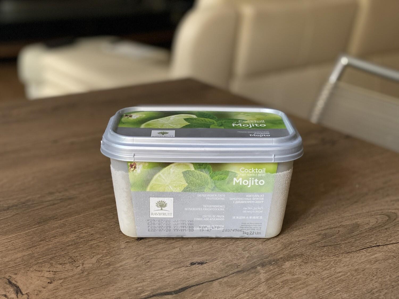 Заморожене пюре Ravifruit лайм та мята, 1 кг.