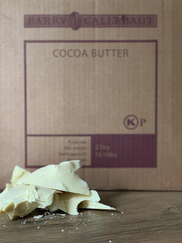Какао-масло кускове Callebaut, 1 кг.